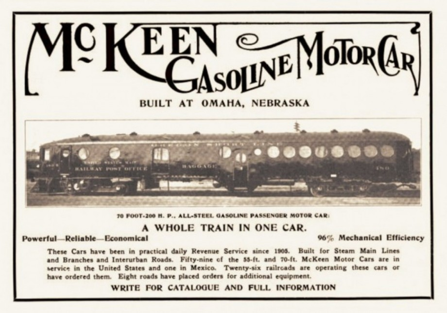 McKeen Car Advertisment